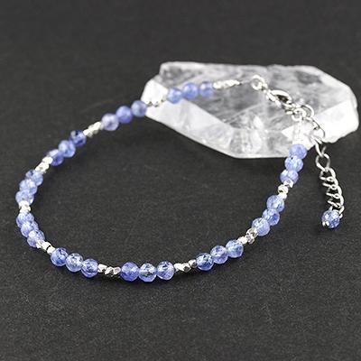 限定生産ブレスレット〜Refreshing Blue〜<タンザナイトSA> ※表記以外へのサイズ変更不可