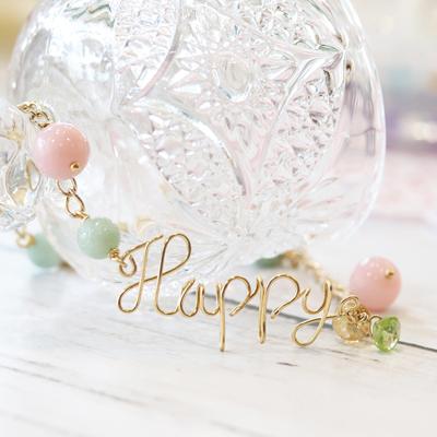 1点限り★毎日HAPPY!夢と希望の愛されブレス-010