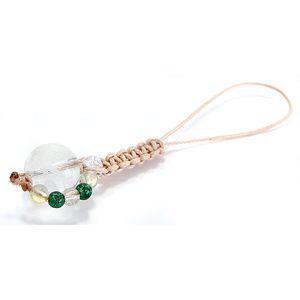 【アウトレット】水晶龍彫り&リアルアベンチュリン&プレナイトストラップ
